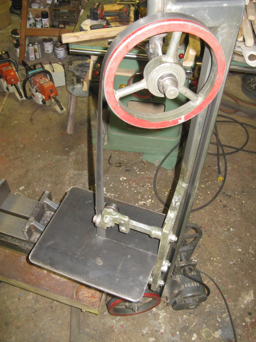 Home Made Band Saw Modifications The Hobby Machinist