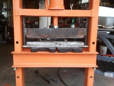 A Diy Press Brake For A Hydraulic Shop Press The Hobby