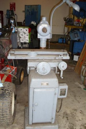 Bench Mounted Or Small Surface Grinder The Hobby