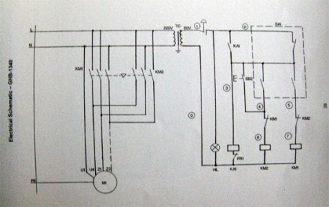 jet lathe electrical wiring diagram symbol enco 110-1340 lathe contactor wiring | the hobby-machinist ... bend lathe motor wiring diagram on air pressure