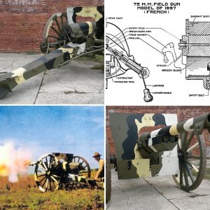 Greg's French 75 mm Cannon