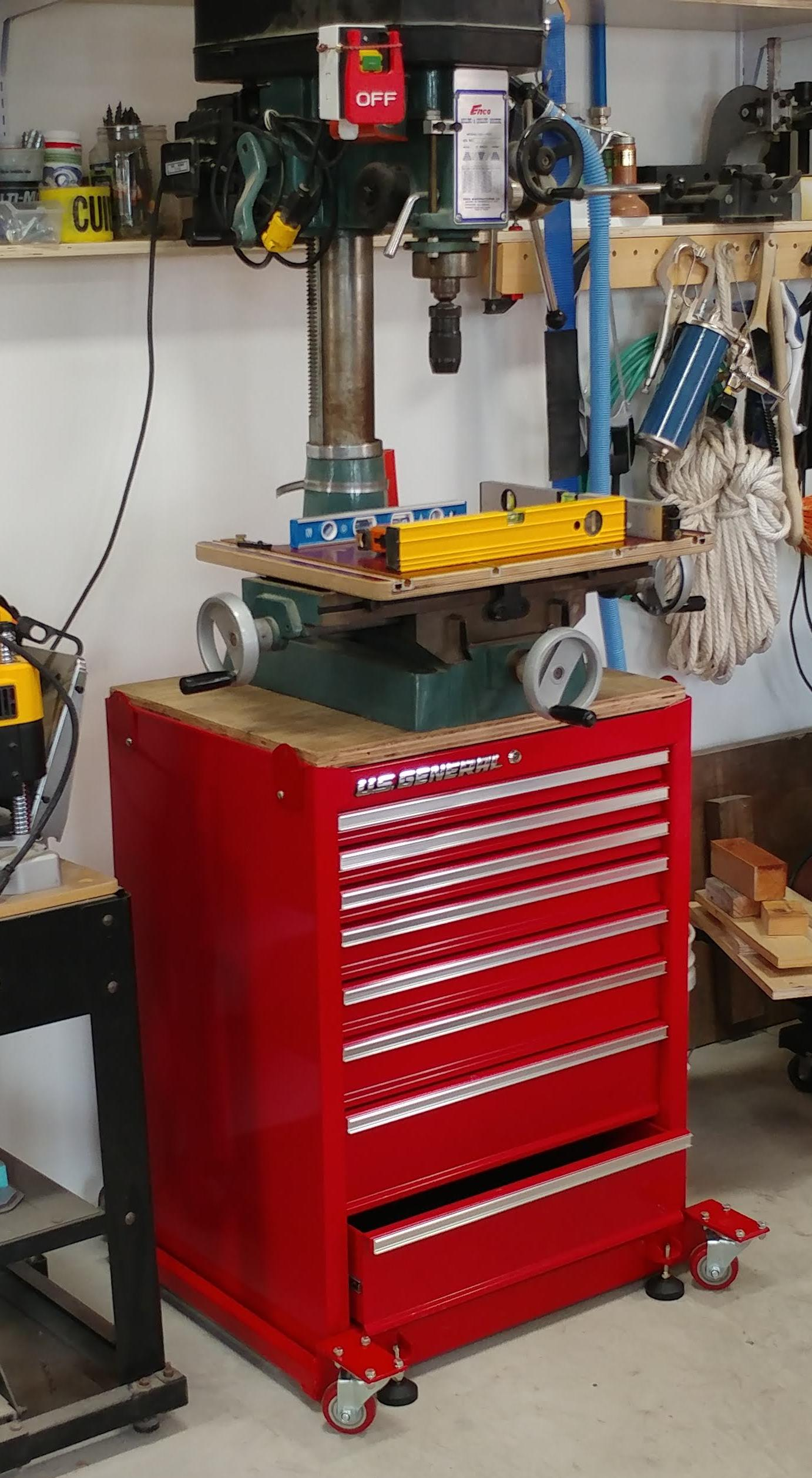Rong Fu RF-25 on Harbor Freight Drawers Stand c.jpg