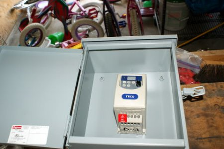 New Teco VFD Install - Enclosure - 3 PH Motor   The Hobby