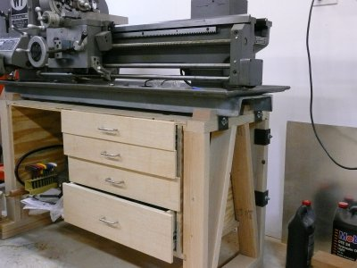 Prime Building A Table For A Lathe The Hobby Machinist Machost Co Dining Chair Design Ideas Machostcouk
