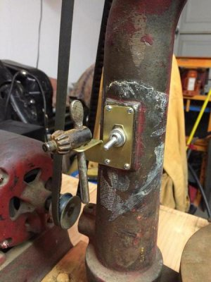 Old Champion Blower & Forge 50-E Drill Press | The Hobby