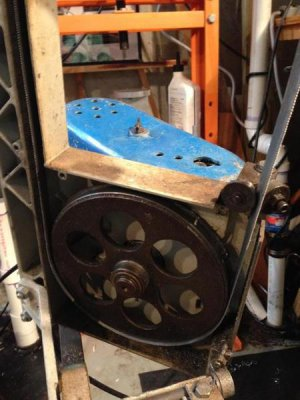Band Saw Blade Keeps Coming Off   The Hobby-Machinist