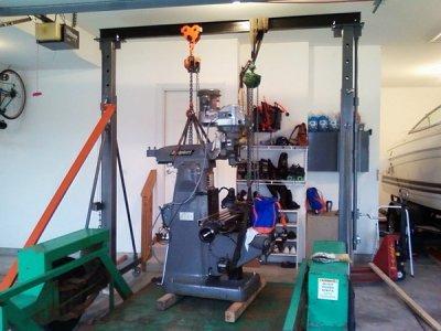 Harbor Freight Gantry Crane >> Gantry Crane 69513 The Hobby Machinist
