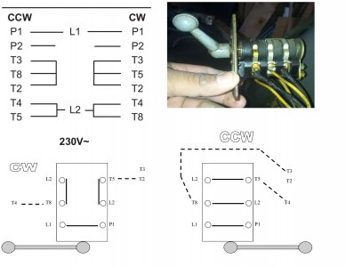 drum switch and single phase motor   The Hobby-MachinistThe Hobby-Machinist