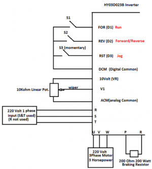 Huanyang 3kw Vfd-240 Volt Single Phase To 220 Volt 3 Phase | The Hobby-Machinist Forum