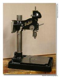 "Vintage Buffalo 15/"" Dril Press Depth Stop Rod Bracket"