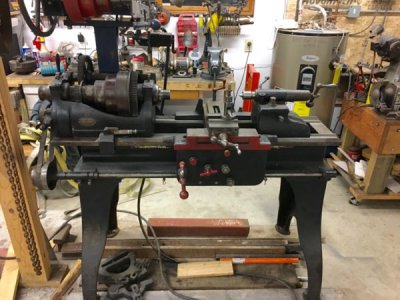 Lathe] - Old F  E  Reed 14 inch metal lathe   The Hobby