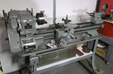 Can anyone help me identify this rather large Atlas Lathe | The