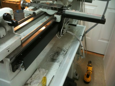 DRO Install on a Clausing 4900 Series Lathe | The Hobby