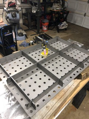 Peachy Welding Table Set Up And Fit Certiflat The Hobby Machinist Pabps2019 Chair Design Images Pabps2019Com