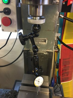 Clausing 8520 Spindle Indicator Installed.jpg