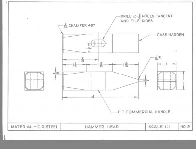 My Metalshop/drafting projects -