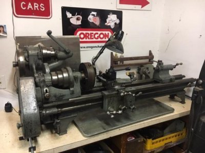 Want to see pictures of your benchtop lathe stand | The