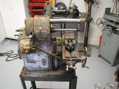 My Atlas Milling Machine Cleanup And Upgrades The Hobby Machinist
