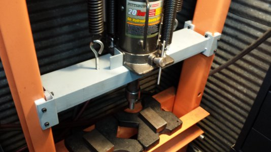 Shop Press upgrades | The Hobby-Machinist