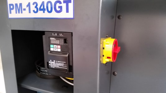 PM1340GT VFD mounted with Main Power switch.jpg