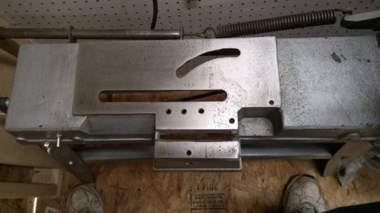 Harbor Freight band saw modifications   The Hobby-Machinist