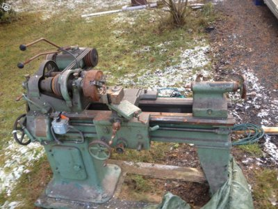 Old lathe of unknown brand FS in Sweden | The Hobby-Machinist