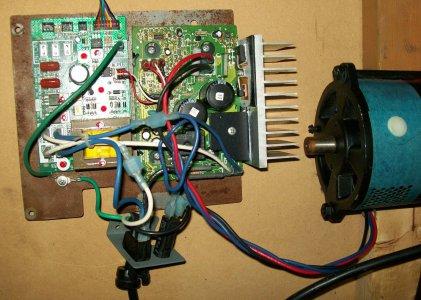 Atlas lathe DC motor conversion, treadmill   The Hobby-Machinist on potentiometer circuit diagram, potentiometer wiring connection diagram, 3 wire potentiometer diagram,