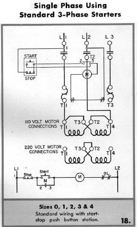 on magnetic motor starter wiring diagram with on off ons