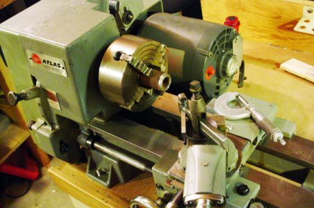 New to me lathe, Atlas by Clausing 6 x18 | The Hobby-Machinist