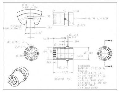 Ar 10 barrel extension threads the hobby machinist forum for My blueprint arkansas