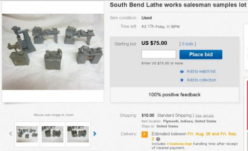 South Bend Lathe Scale Models | The Hobby-Machinist