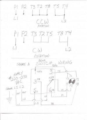 Aci Drum Switch Wiring | Wiring Diagram A Drum Switch Wiring Schematic on