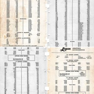 Logan Price List June 1 1959