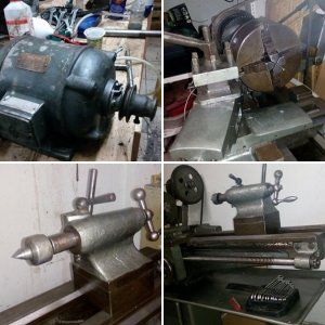 Old Lathe restoration