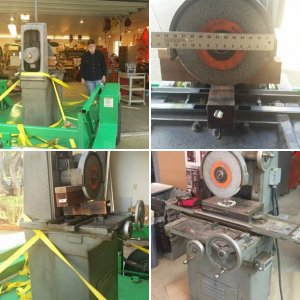 Harvel Surface Grinder