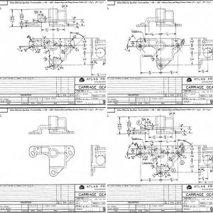 Craftsman/Atlas 9_11 Carriage Gear Case Blueprints