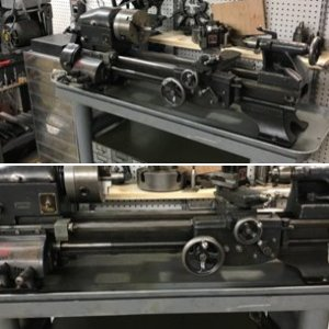 "Power-Kraft (Logan) 10"" Lathe"