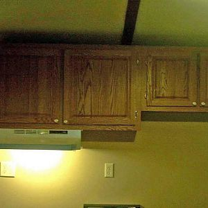 Kitchen cabinets made for my Father in Law.