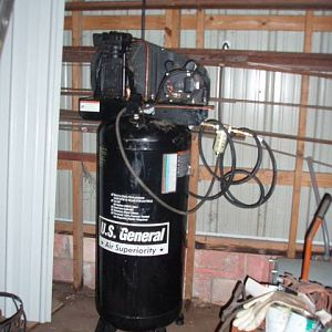 Salvage Store 130.00 compressor