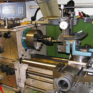 milling on lathe