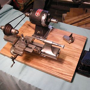 American Watch Tool WW Lathe