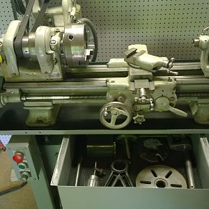 My 9 inch South Bend lathe
