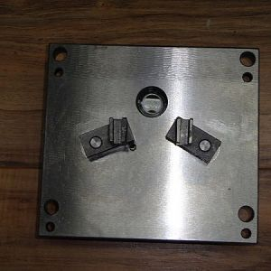 Cover Plate With Shift Forks