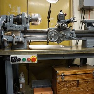Lathe Side View Med
