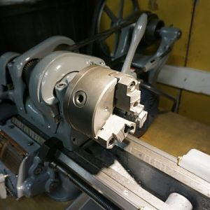 Lathe Chuck View MEd