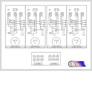 Enco 100-1525 Wiring Map - 600x600