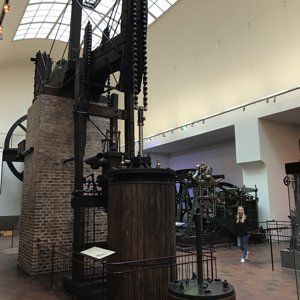 Steam Powered Water Pump from ~1850